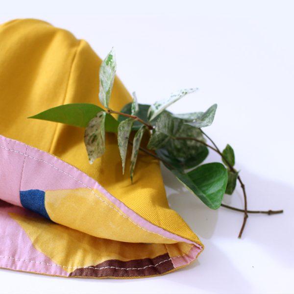 ベビー帽子 はくちょう ピンク